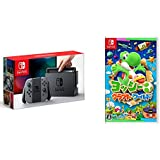 Nintendo Switch 本体 (ニンテンドースイッチ) 【Joy-Con (L) / (R) グレー】 + ヨッシークラフトワールド -Switch セット