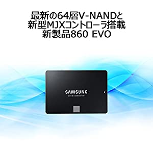 Samsung SSD 4TB 860 EVO V-NAND搭載 2.5インチ 内蔵型  5年保証 日本サムスン正規品 MZ-76E4T0B/EC