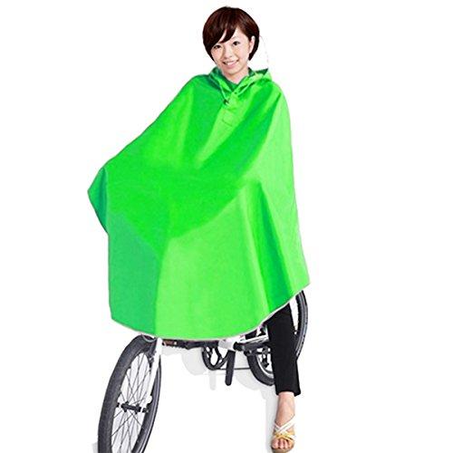 [해외][clochette (쿠로 세) 자전거 바구니까지 푹 비옷 판초 타입 7 색 블루 | 핑크 | 레드 | 옐로우 | 네이비 | 그린 | 퍼플 남녀 겸용 프리 사이즈 방수 휴대 가방 포함/[clochette (crochet)] Raincoat Poncho type all seats up to basket Bikes | Pi...
