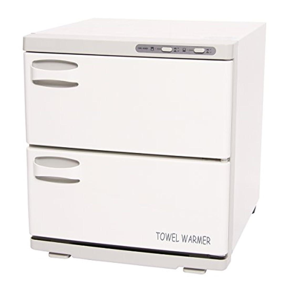 忘れっぽいブース焼くタオルウォーマー 2ドア (横開き) 32L [ タオル蒸し器 おしぼり蒸し器 タオルスチーマー ホットボックス タオル おしぼり ウォーマー スチーマー 業務用 保温器 ]