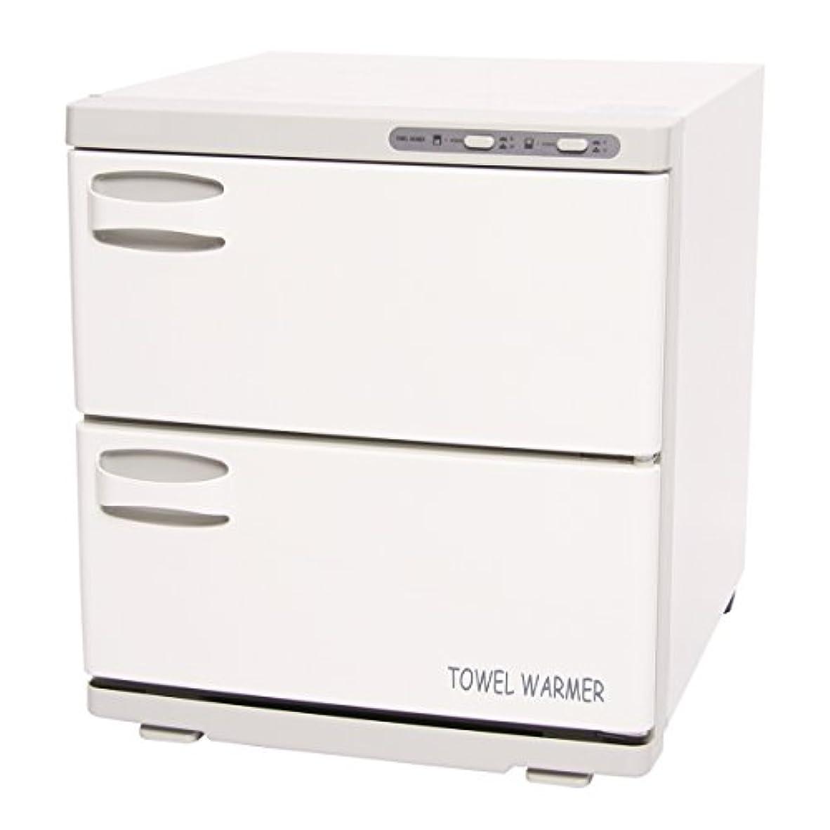 進化するパンチ着実にタオルウォーマー 2ドア (横開き) 32L [ タオル蒸し器 おしぼり蒸し器 タオルスチーマー ホットボックス タオル おしぼり ウォーマー スチーマー 業務用 保温器 ]