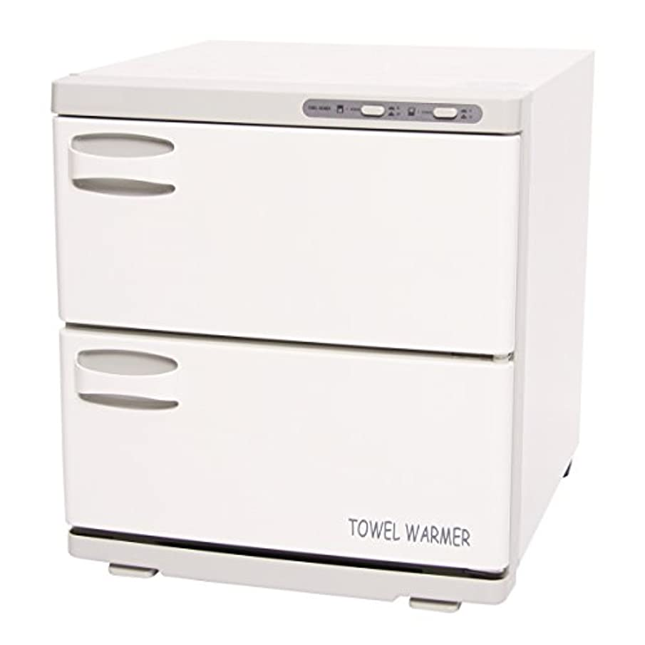 タオルウォーマー 2ドア (横開き) 32L [ タオル蒸し器 おしぼり蒸し器 タオルスチーマー ホットボックス タオル おしぼり ウォーマー スチーマー 業務用 保温器 ]