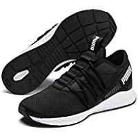 PUMA NRGY Star Men's Outdoor Multisport Training Shoes, Black White