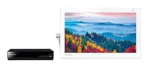 パナソニック 15V型 ポータブル 液晶テレビ 防水タイプ 500GB HDDレコーダー付き プライベート・ビエラ ホワイト UN-15T5-W