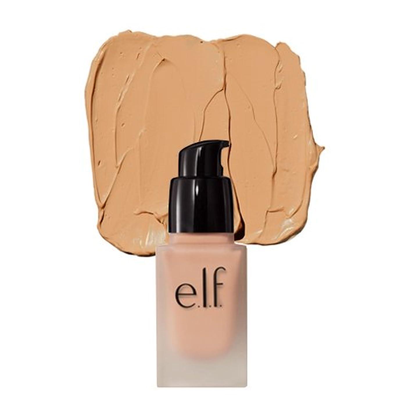 サスペンションベッドを作る抑制する(3 Pack) e.l.f. Oil Free Flawless Finish Foundation - Nude (並行輸入品)