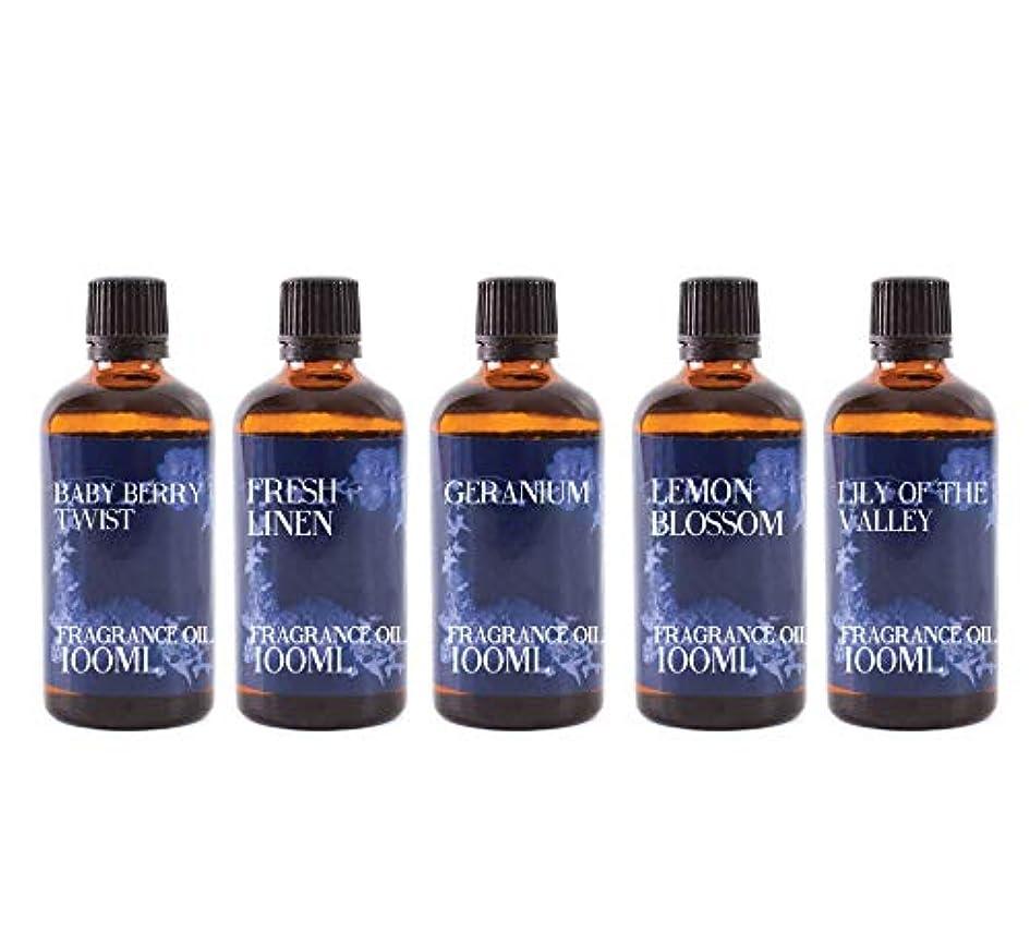 フィラデルフィア噴火スープMystic Moments   Fragrant Oil Starter Pack - Spring Oils - 5 x 100ml