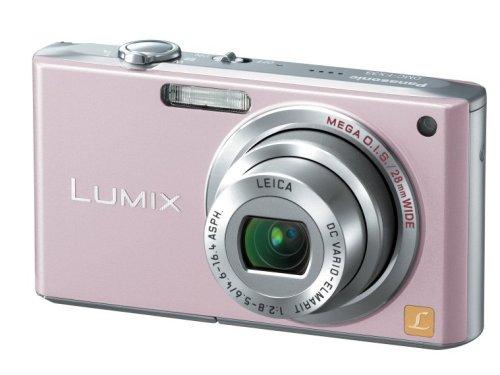 Panasonic デジタルカメラ LUMIX (ルミックス) カクテルピンク DMC-FX33-P -
