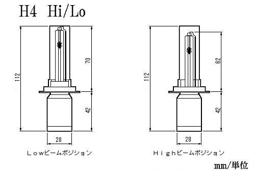 [AXIV-HID]EPSILON250/GPX250/KL250[6000/8000/12000/30000K]H4HL [ケルビン数]30000K epsilon250-gpx250-kl