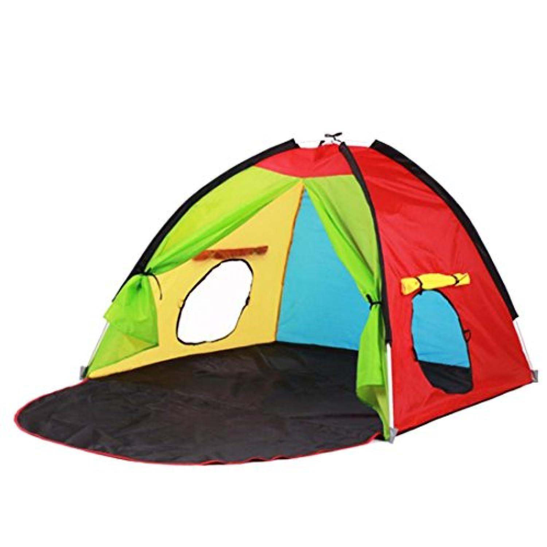 enerhu Indoor / Outdoor Kids Play Tents with roll-upウィンドウChildren Play ShadeビーチGraden公園party47.24