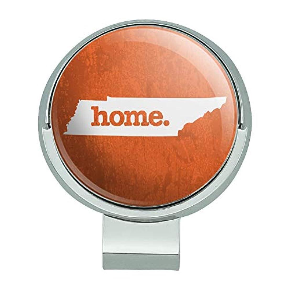 ジャンピングジャック雰囲気汚物テネシー州テネシー州ホーム州テクスチャードオレンジ磁気ボールマーカー付きゴルフハットクリップ