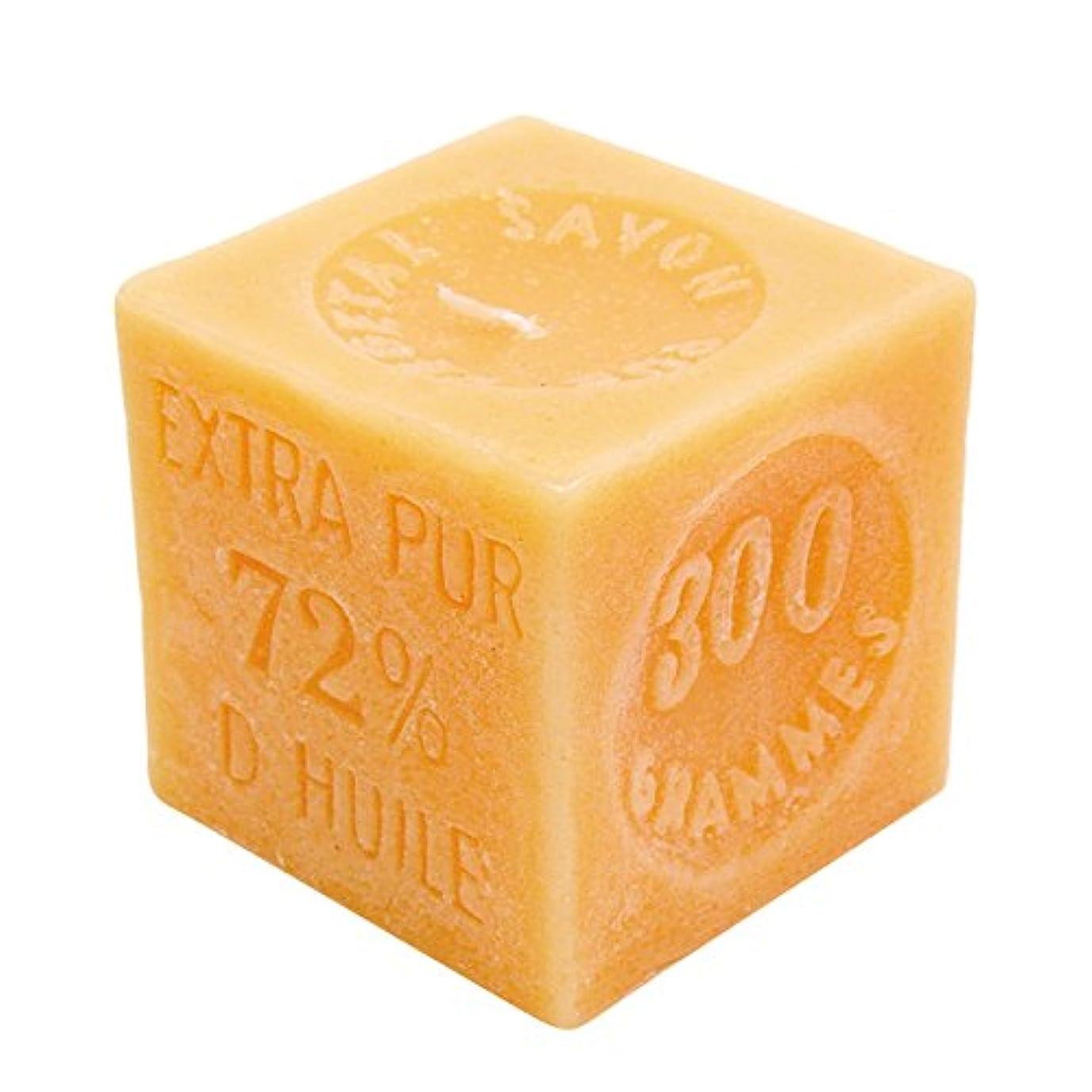 スリーブファイアル品マルセイユソープキャンドル フローラル&フルーティ 285g(ろうそく 燃焼時間約30時間)