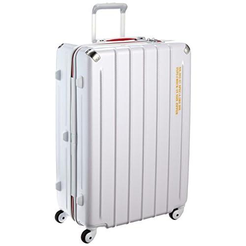 [プラスワン] PLUS ONE 軽量スーツケース SWIFT(スウィフト) 80L 4.5kg  ヒノモトキャスター 303-67 WHITE CARBON (ホワイトカーボン)