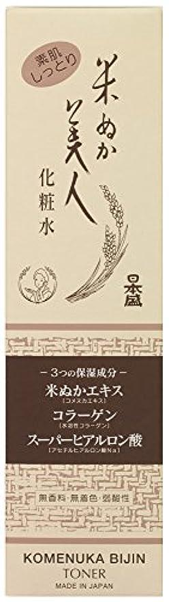 メッセージスケジュール差別化する米ぬか美人 化粧水 200ml