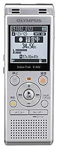 OLYMPUS ICレコーダー VoiceTrek 4GB MicroSD対応 V-842 シルバー V-842 SLV