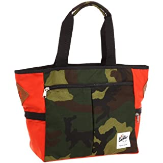 Weekend Tote 620: Woodland Camo / Mandarin