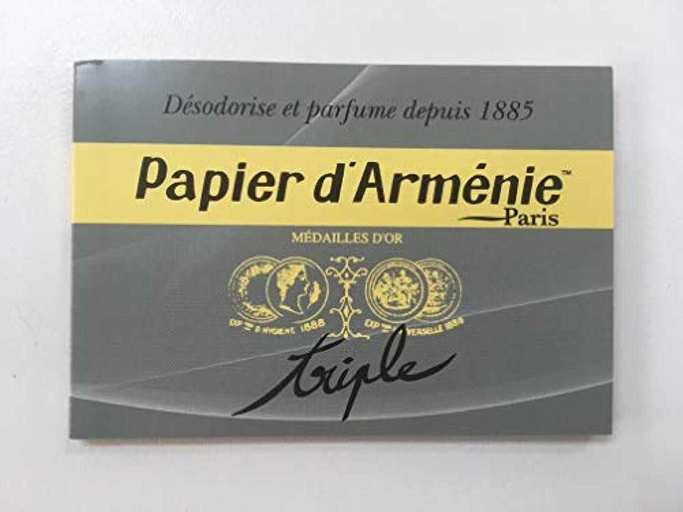 不当チャーターできたパピエダルメニイ 空気を浄化する紙のお香パピエダルメニイ トリプル ヨーロッパ雑貨
