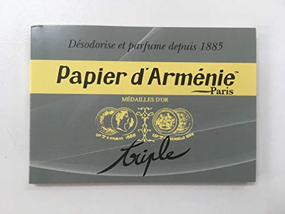 スリラーヒップ恒久的パピエダルメニイ 空気を浄化する紙のお香パピエダルメニイ トリプル ヨーロッパ雑貨