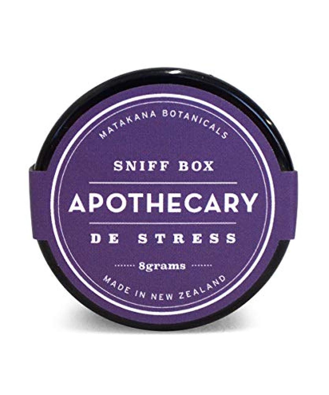 これら幼児有効なAPOTHECARY/スニフボックス デ ストレス アロマビーズ アロマ フレグランス 香り玉