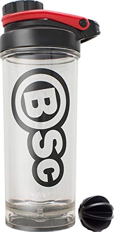 ガチョウ急降下白いBSC プロテイン シェイカー 800ml BIG シェーカー ボトル 液漏れ防止ラバー付 PBAフリー [海外直送品]