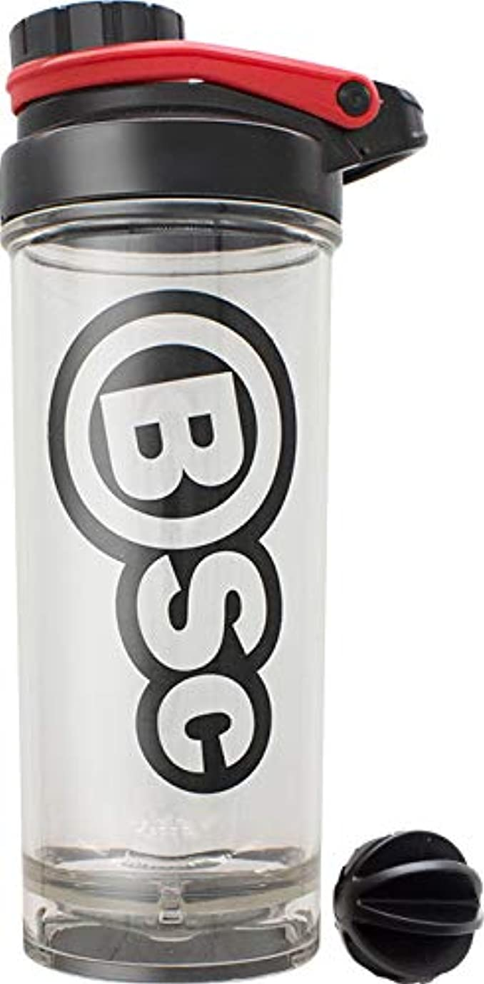 咳磁気戻すBSC プロテイン シェイカー 800ml BIG シェーカー ボトル 液漏れ防止ラバー付 PBAフリー [海外直送品]