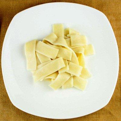 もつ鍋、水炊きセット(追加用) パッパルデッレ風平打ち麺[200g] おどろきっちん