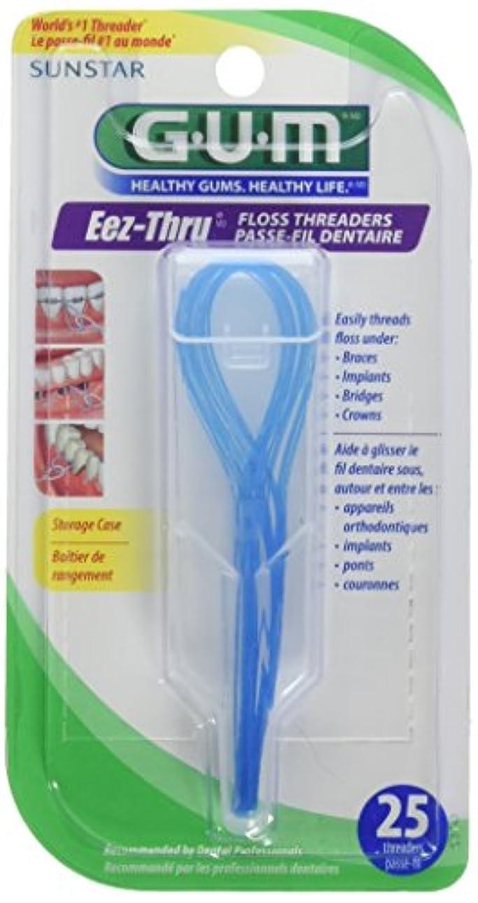 証明書ピービッシュ長さButler Floss Threaders Eez-Thru 25 Threaders (Pack of 6) (並行輸入品)