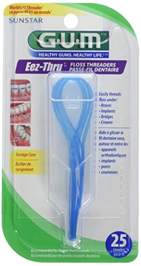 相互接続吐き出す溶けるButler Floss Threaders Eez-Thru 25 Threaders (Pack of 6) (並行輸入品)