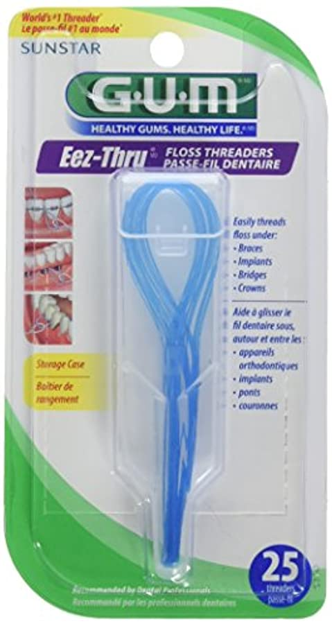 複製する警告学部長Butler Floss Threaders Eez-Thru 25 Threaders (Pack of 6) (並行輸入品)