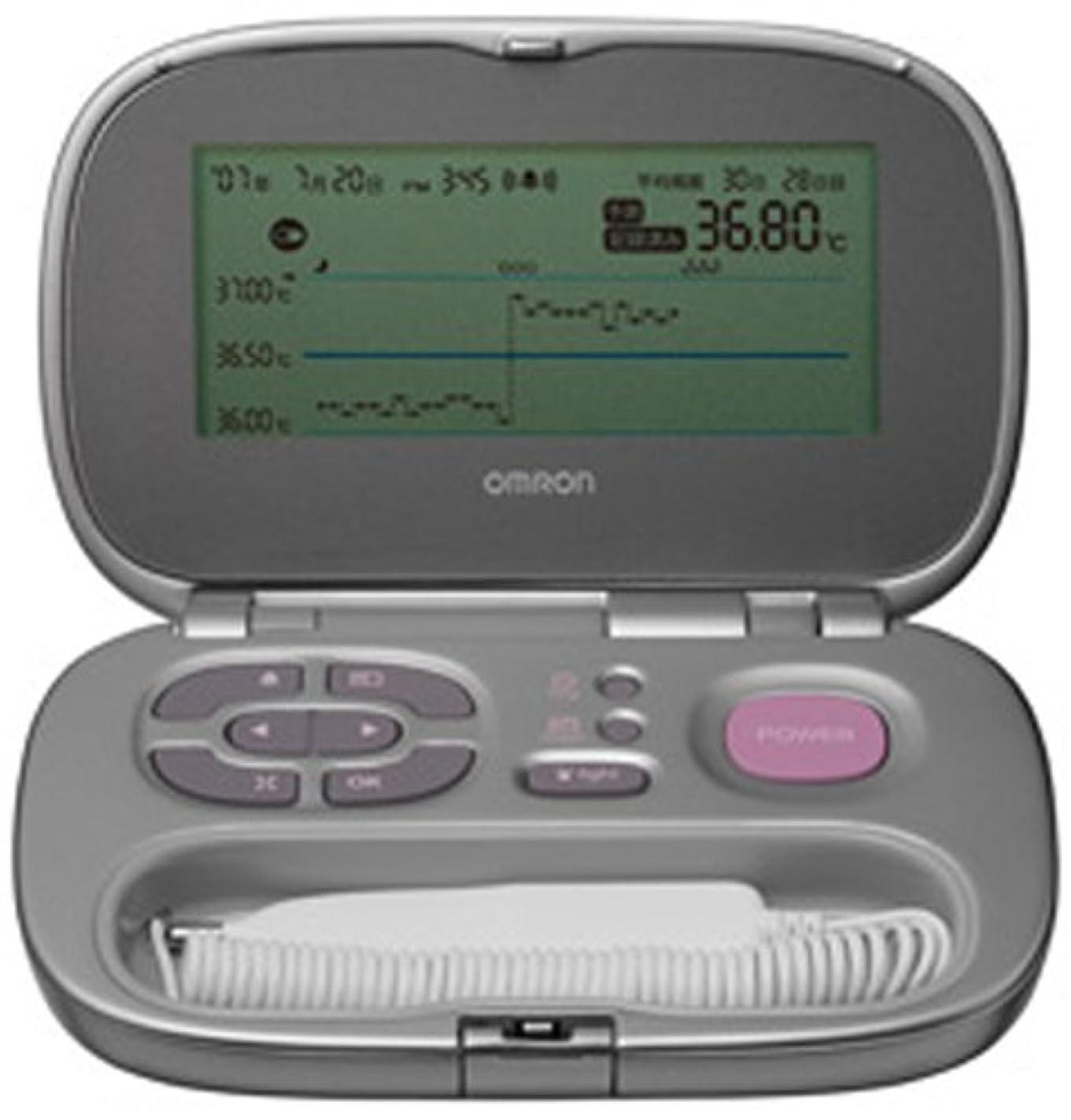 無臭内部欠乏オムロン 婦人体温計 サーモプラン MC-440
