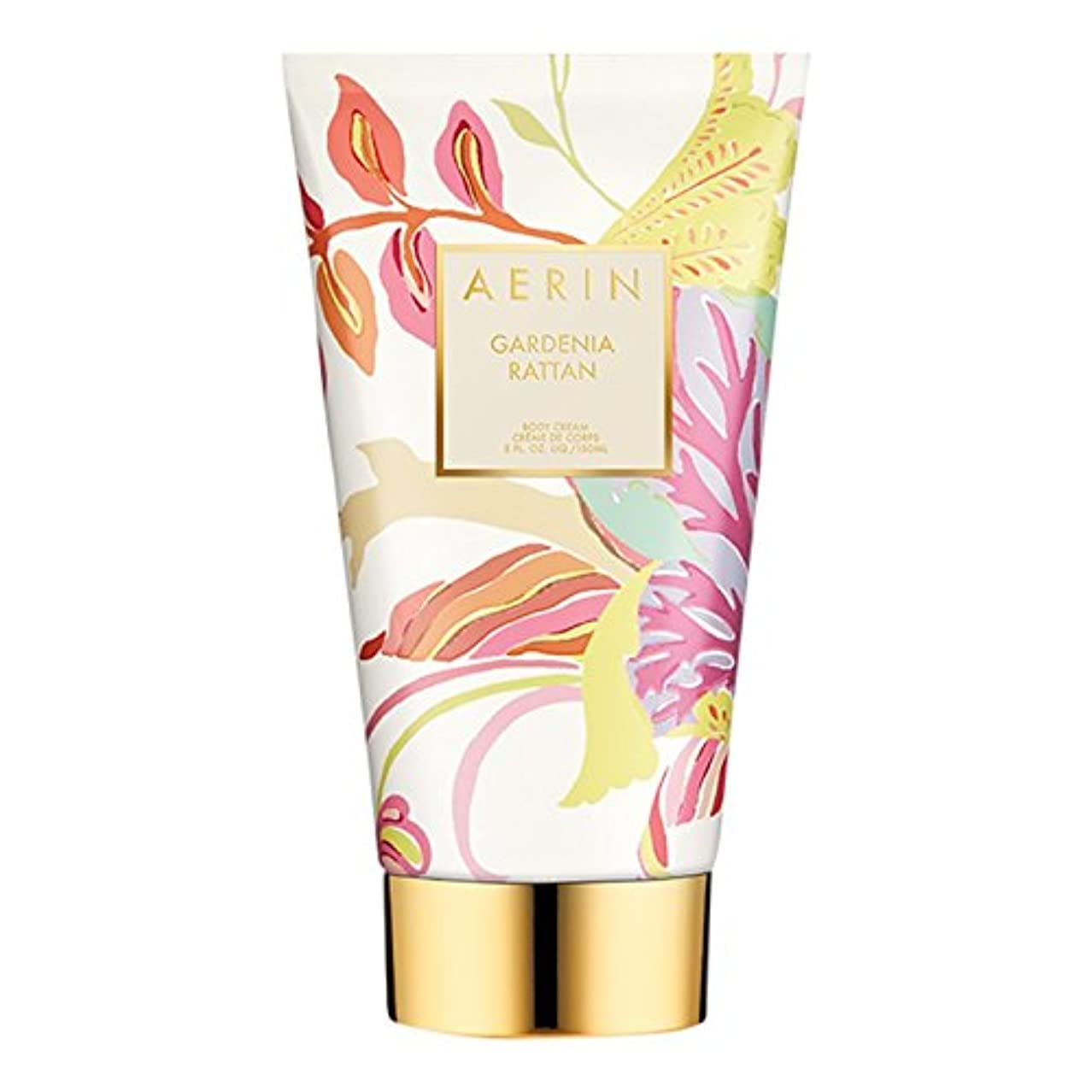 コショウレイ三角形Aerinクチナシ籐ボディクリーム150ミリリットル (AERIN) (x2) - AERIN Gardenia Rattan Body Cream 150ml (Pack of 2) [並行輸入品]