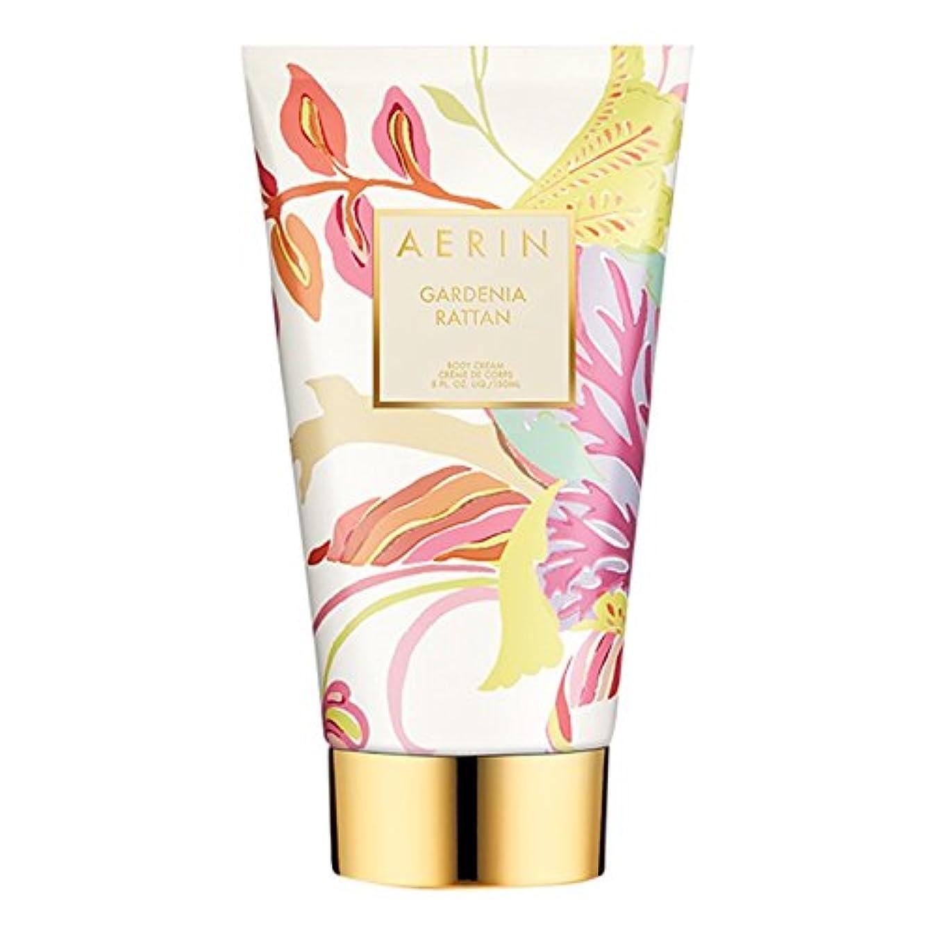 特性対話平方Aerinクチナシ籐ボディクリーム150ミリリットル (AERIN) (x6) - AERIN Gardenia Rattan Body Cream 150ml (Pack of 6) [並行輸入品]