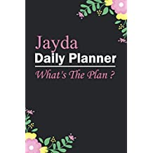 Jayda : Planner : Daily Weekly Monthly Calendar Planner : January to December: 365 Days Daily Timeline Schedule With Blank Lined For Notes, To-Do List, Priorities