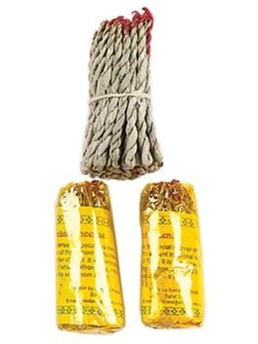 規制する悲劇的な風邪をひくチベットルンビニRope Incense、3.5