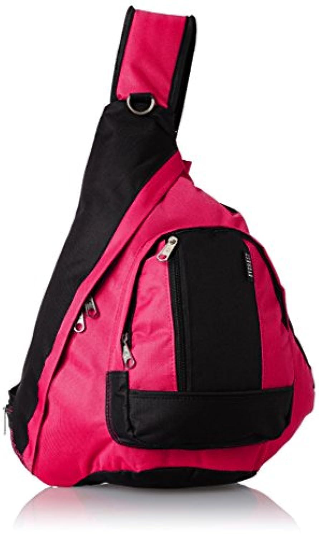 エベレストBB015-HPK-BKスリングバッグ - ホットピンク、ブラック