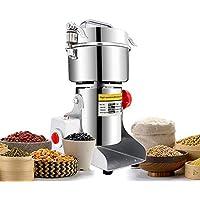 CGOLDENWALL  700g、30~300メッシュ電動スパイスミル 業務用穀類製粉機 ハイスピード調味料グラインダー ステンレス製漢方薬粉砕機  八角、唐辛子、山椒、にっけい、しょうが、胡椒等に