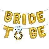 誕生日 かざりつけ 女の子 Migavan 装飾品になる花嫁装飾品になる花嫁手紙バナー風船になる16インチのジャンボ花嫁