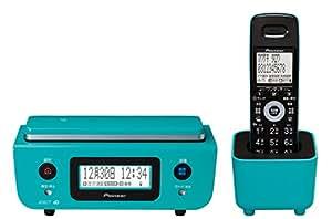 Pioneer デジタルコードレス電話機 子機1台付き 迷惑電話対策・留守番・ナンバーディスプレイ機能搭載 ターコイズブルー TF-FD31W-A