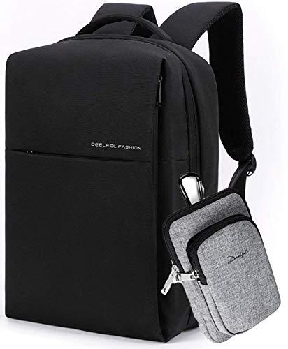 78e6b9a3f66b 無印優品 ビジネスリュック メンズ 大容量 リュックサック 防水 軽量 pcバッグ 15.6インチ タブレット