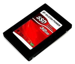 シリコンパワー 2.5インチSolid State Disk SATA(SATAI/II)準拠32GB、MLCチップ採用、紙箱 SP032GBSSD650S25