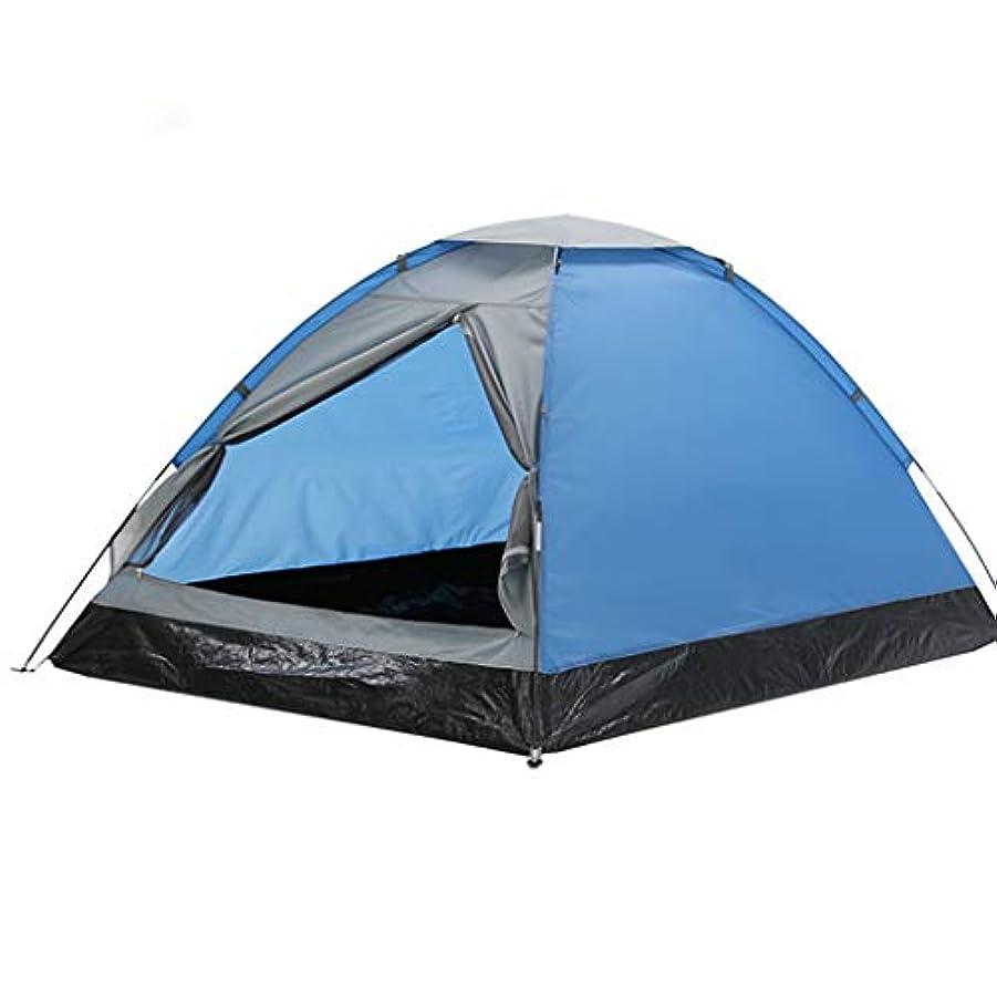 ピンチランチ葉っぱ屋外二重単層キャンプテントカップルレジャーキャンプ用品二重扉換気通気性抗光雨
