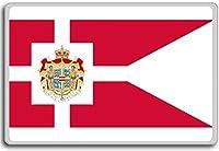 Royal Standard Of Denmark - Head of state standard fridge magnet - ?????????