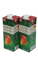 トロピカルマンゴジュース 果汁30% 1000ml×12本 東洋フルーツ(有)