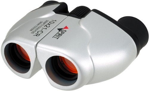 NASHICA 双眼鏡 SPIRIT 10×21 CR-IR-W ポロプリズム式 10倍 21口径 シルバー 10×21CR-IR-S