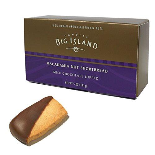 (ビッグアイランドキャンディーズ) マカダミアナッツショートブレッド ミルクチョコレートディップ 141g