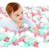 Soft Plastic Ocean Ball BPA Free with No Smell for PitKiddie PoolIndoor Baby Playpen Pack of 100