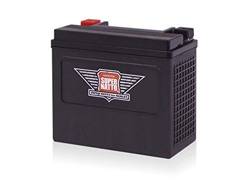 スーパーナット ハーレー専用AGMバッテリー 65989-97S■YTX20L-BS YTX20HL-BS 65989-97C 互換 65989-97S