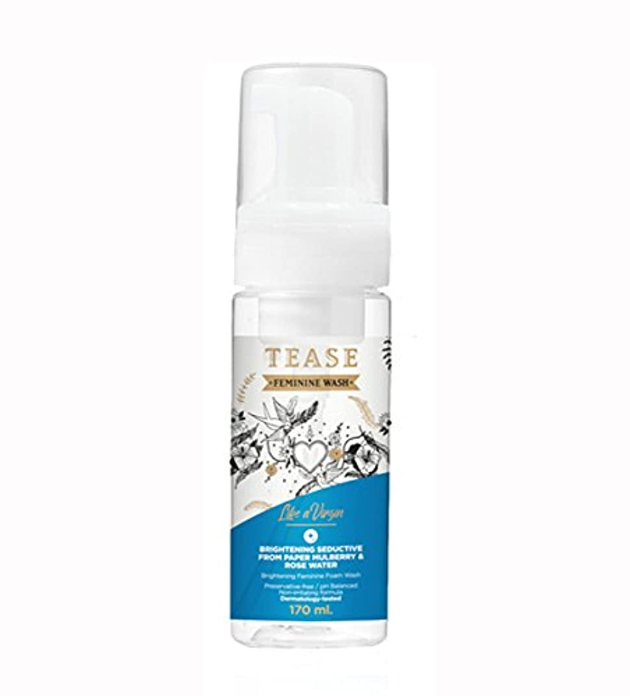 追加カロリーリスク(ティース)TEASE フェミニン フォーム ウォッシュ (ブライトニング, 170ml)