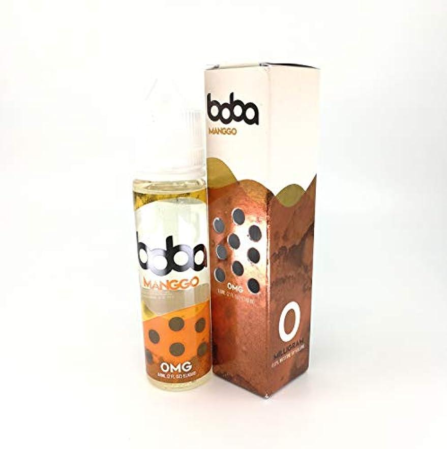 ヘルシー衣装疑い者大人気 Jazzy Boba VAPE 電子タバコ リキッド USA産 VapeHub.JPオリジナルセット (MANGGO BOBA, 60ml)