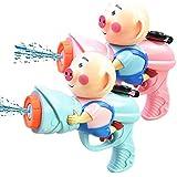 CCHH LIFE 三匹の子豚の水鉄砲、子供の水のおもちゃ、入浴浜の漂流おもちゃ、水鉄砲 ( Color : Multi-colored , Size : S )