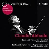 Abbado conducts Schubert, Beethoven & Wagner by Claudio Abbado